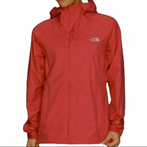 The North Face Hyvent Jacket in Horizon Red